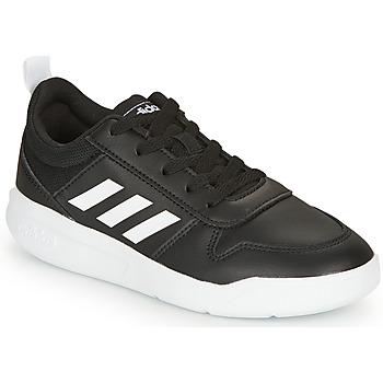 kengät Pojat Matalavartiset tennarit adidas Originals VECTOR K Black