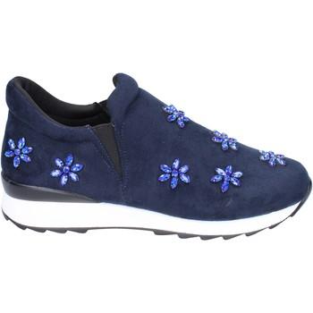 kengät Tytöt Tennarit Holalà slip on camoscio sintetico Blu
