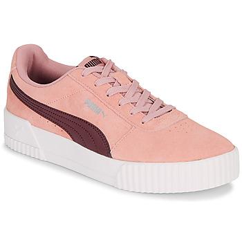 kengät Naiset Matalavartiset tennarit Puma COURT CALI RS Pink