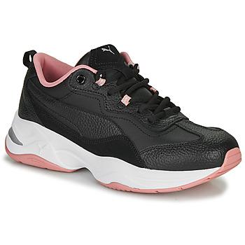 kengät Naiset Matalavartiset tennarit Puma WNS CILIA LUX N Black