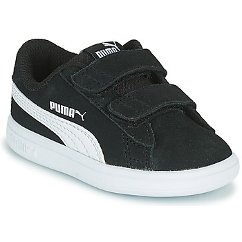 kengät Lapset Matalavartiset tennarit Puma SMASH INF Musta