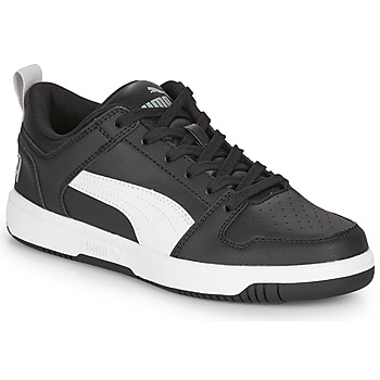kengät Pojat Matalavartiset tennarit Puma REBOUND LAYUP N Black