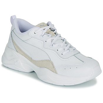kengät Naiset Matalavartiset tennarit Puma WNS CILIA LUX B White