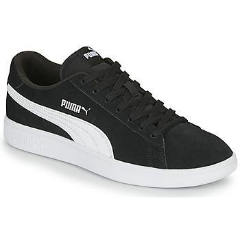 kengät Miehet Matalavartiset tennarit Puma SMASH Black