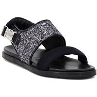 kengät Naiset Sandaalit ja avokkaat Carmens Padova GLITTER FUMO Multicolore