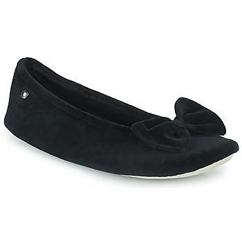 kengät Naiset Tossut Isotoner 95810 Musta