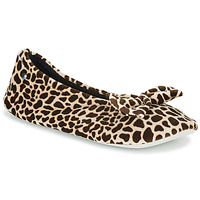 kengät Naiset Tossut Isotoner 95991 Brown