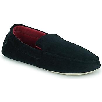 kengät Miehet Tossut Isotoner 96774 Musta