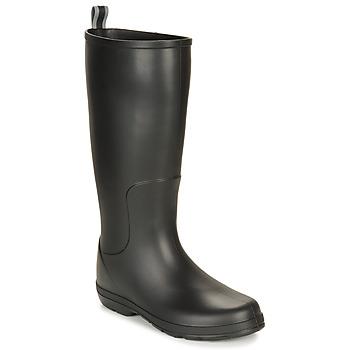 kengät Miehet Kumisaappaat Isotoner 96523 Black