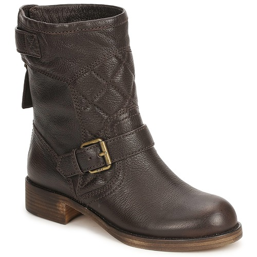 kengät Naiset Bootsit Marc by Marc Jacobs 626243 Brown