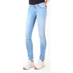 vaatteet Naiset Slim-farkut Wrangler Jeans  Blue Trace W22TF729D