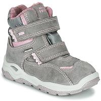 kengät Tytöt Bootsit Primigi WICK GORE-TEX Grey / Pink