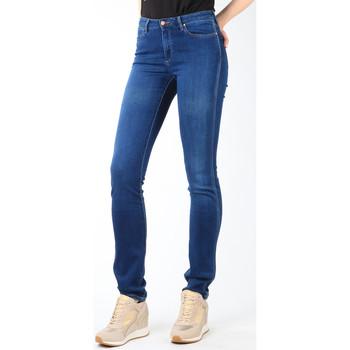vaatteet Naiset Slim-farkut Wrangler Jeans  Cold Sky W26E8481V