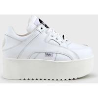kengät Naiset Korkeavartiset tennarit Buffalo 1330-6 Valkoinen