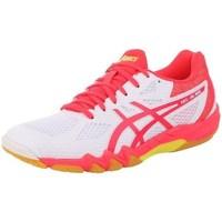kengät Naiset Juoksukengät / Trail-kengät Asics Gelblade 7 100 Womens Valkoiset,Vaaleanpunaiset