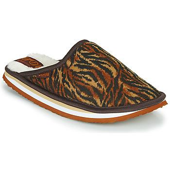kengät Naiset Tossut Cool shoe HOME WOMEN Brown / Leopardi