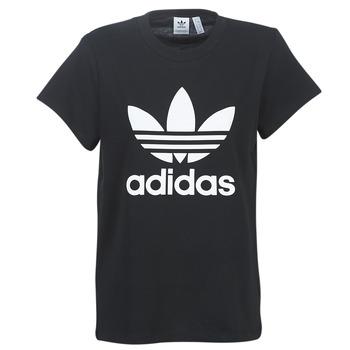 vaatteet Naiset Lyhythihainen t-paita adidas Originals BOYFRIEND TEE Black