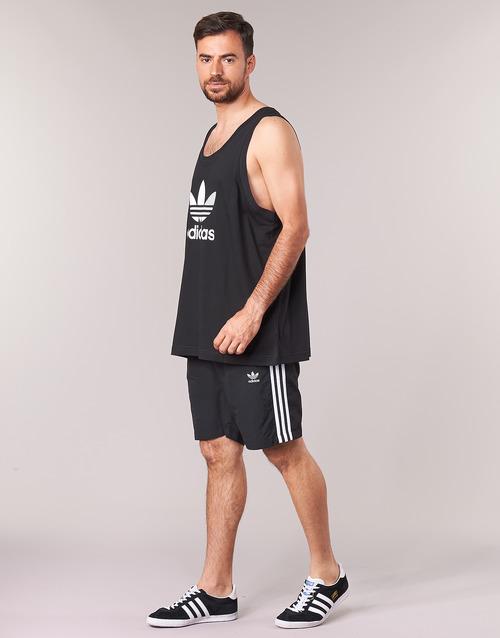 adidas Originals TREFOIL TANK Black 15839746 Miehet vaatteet