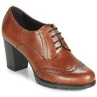 kengät Naiset Derby-kengät André MAESTRO Cognac