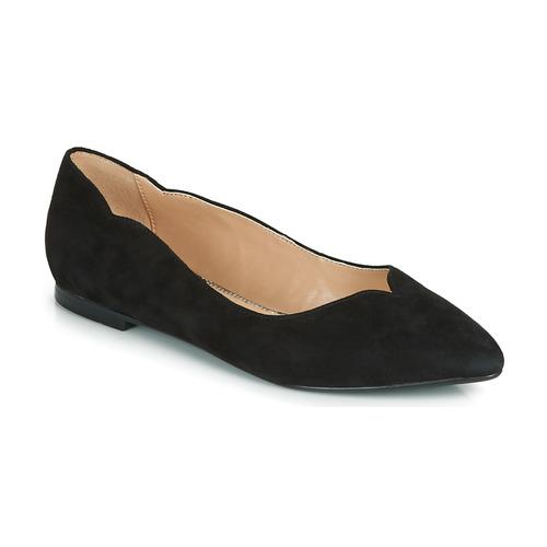 kengät Naiset Balleriinat André LIKELY Black