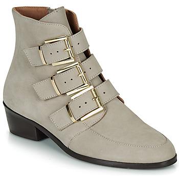 kengät Naiset Bootsit André ERNA Grey