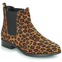 kengät Naiset Bootsit André ELEGANTE Leopardi