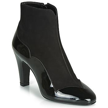 kengät Naiset Nilkkurit André LA ROMANTIQUE Black