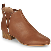 kengät Naiset Bootsit André VERVEINE Camel