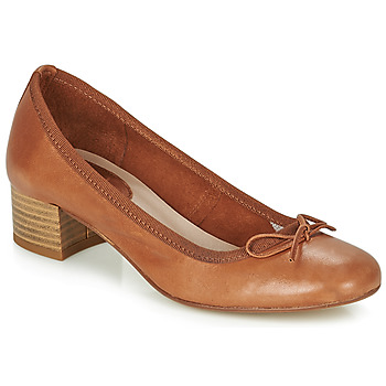 kengät Naiset Balleriinat André POEME Camel