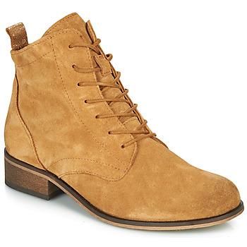 kengät Naiset Bootsit André GODILLOT Beige