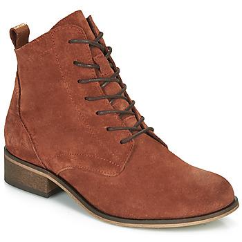 kengät Naiset Bootsit André GODILLOT Orange