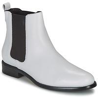 kengät Naiset Bootsit André CARAMEL White