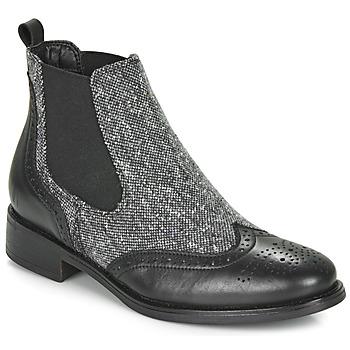 kengät Naiset Bootsit André EGLANTONE Black