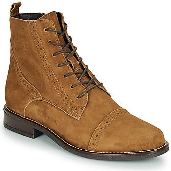 kengät Naiset Bootsit André ECLUSE Camel