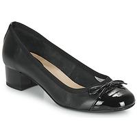 kengät Naiset Balleriinat André POEMINE Black
