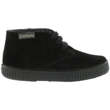 kengät Lapset Bootsit Victoria 106793 Musta