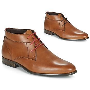 kengät Miehet Bootsit André NEZIA Cognac