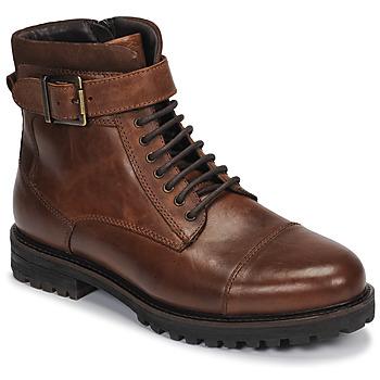 kengät Miehet Bootsit André SANTOS Cognac