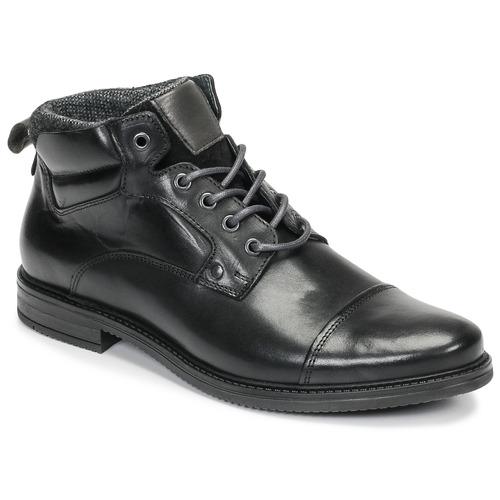 kengät Miehet Bootsit André VABON Black