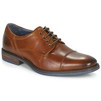 kengät Miehet Derby-kengät André BYRON Cognac