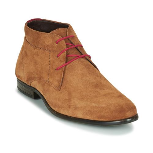 kengät Miehet Bootsit André VELEGANT Cognac
