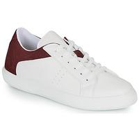 kengät Miehet Matalavartiset tennarit André BIOTONIC White / Bordeaux