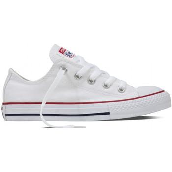 kengät Lapset Matalavartiset tennarit Converse Chuck taylor all star ox Valkoinen