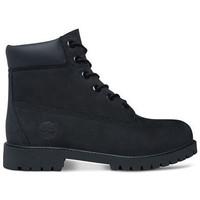 kengät Lapset Bootsit Timberland 6in prem wp Musta