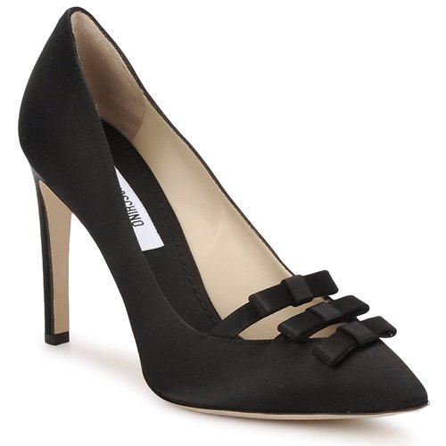 kengät Naiset Korkokengät Moschino MA1012 Black