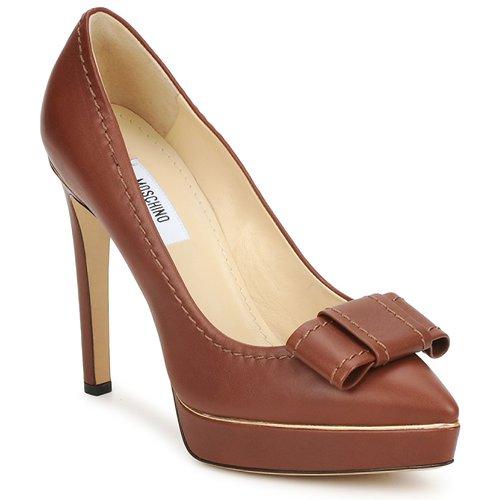 kengät Naiset Korkokengät Moschino MA1009 Brown