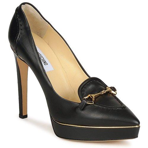 kengät Naiset Korkokengät Moschino MA1003 Black