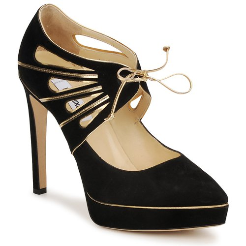 kengät Naiset Korkokengät Moschino MA1004 Black