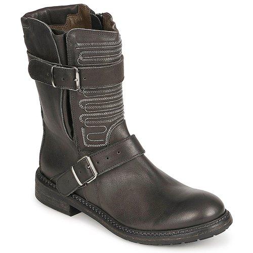 kengät Naiset Bootsit Fru.it ARLINE Black