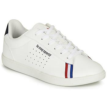 kengät Pojat Matalavartiset tennarit Le Coq Sportif COURTSTAR GS SPORT BBR White